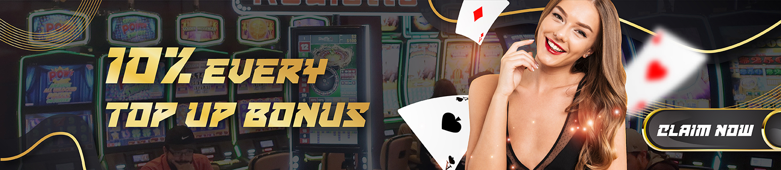 Online Casino Malaysia Welcome Top Up Bonus